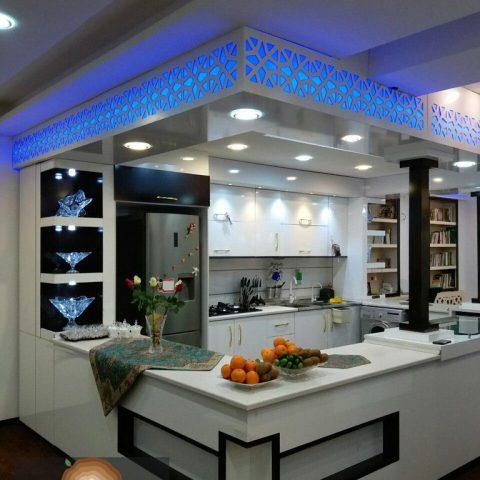 کابینت آشپزخانه آقای افتخاری ۱۴۷۹