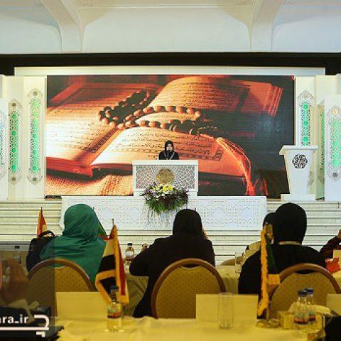 دکور مسابقات قرآن ۱۳۹۷ در هتل هما تهران ۱۶۷۴
