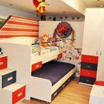 تخت دو طبقه اتاق کودک 105