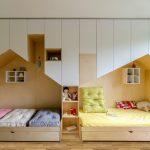 تخت دو طبقه اتاق کودک 126