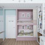 تخت دو طبقه اتاق کودک 135