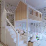 تخت دو طبقه اتاق کودک 14