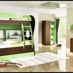 تخت دو طبقه اتاق کودک 140