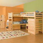 تخت دو طبقه اتاق کودک 149