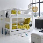 تخت دو طبقه اتاق کودک 44