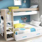 تخت دو طبقه اتاق کودک 48