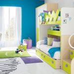 تخت دو طبقه اتاق کودک 68