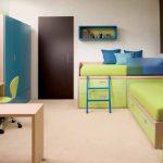 تخت دو طبقه اتاق کودک 75