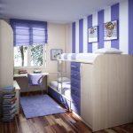 تخت دو طبقه اتاق کودک 96