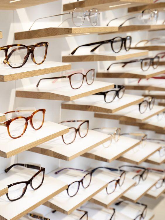 گالری دکور فروشگاه عینک