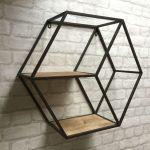 قفسه چوبی و فلزی 3