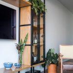 قفسه چوبی و فلزی 6