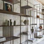 قفسه چوبی و فلزی 7