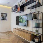 قفسه چوبی و فلزی 8