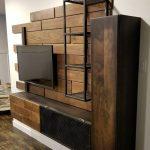 قفسه چوبی و فلزی 9