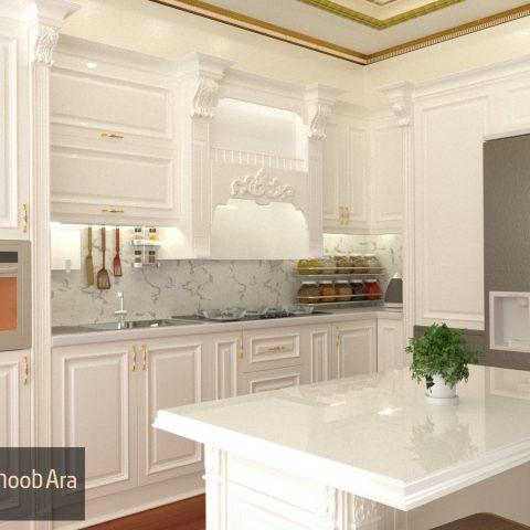 کابینت آشپزخانه ممبران آقای ملکی ۱۷۸۶