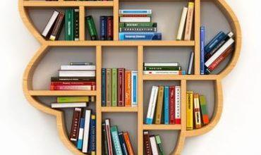 گالری تصاویر کتابخانه و قفسه کتاب