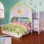 تخت و دکور اتاق کودک 10