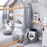 تخت و دکور اتاق کودک 7