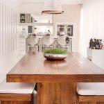 میز ناهار خوری و اپن آشپزخانه 5