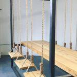 نیمکت چوبی 56
