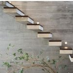 راه پله چوبی 90
