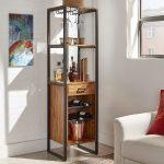 قفسه چوبی و فلزی 4