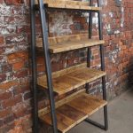 قفسه چوبی و فلزی 5