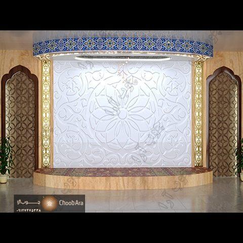 دکور سن کنفرانس دانشکده بهداشت استان قم ۱۸۰۶