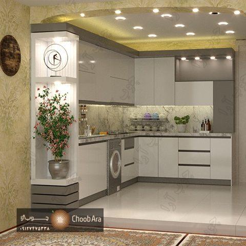 کابینت آشپزخانه براق آقای محمد پور ۱۸۰۸